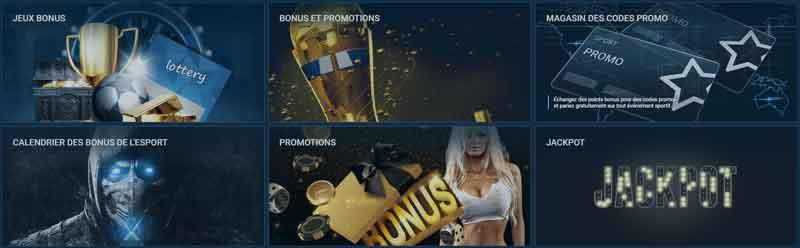 Bonus 1xbet
