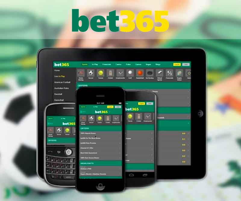 Application de pari mobile Bet365