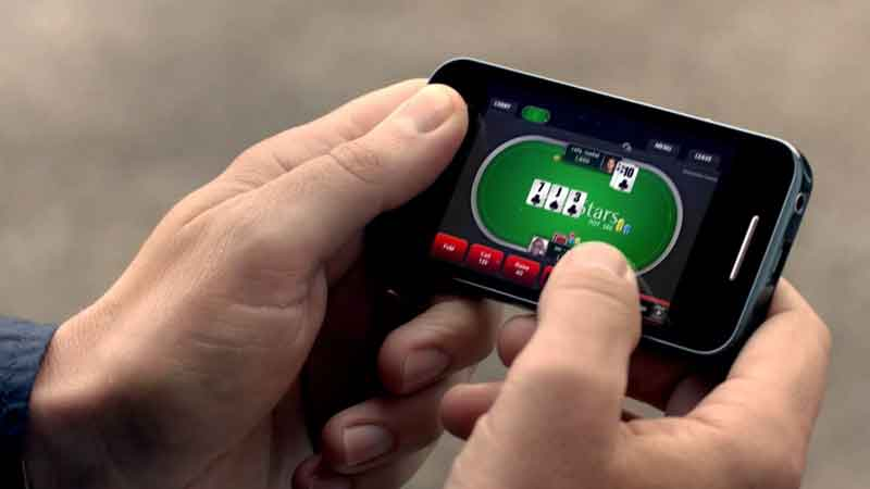 mobile Betclic poker