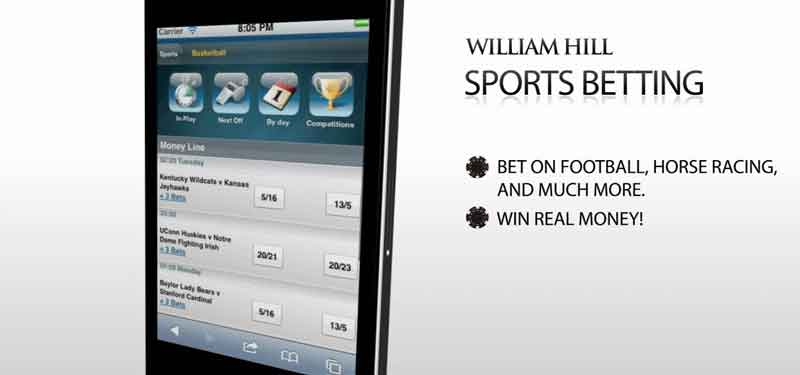 william hill paris sportif mobile